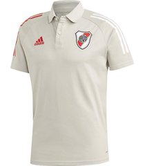 chomba gris adidas river plate polo 2021
