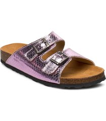 biabetricia buckle sandal shoes summer shoes flat sandals rosa bianco