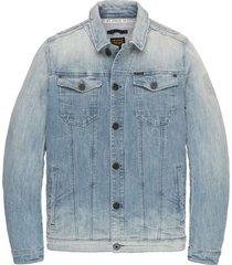 short jacket light blue denim jack light blue deni