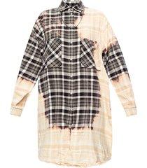 shirt jurk met ketting