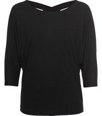 maglia con incroci sulla schiena (nero) - bodyflirt