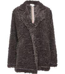 jacket morgonrock grå pj salvage