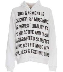 moschino printed hoodies sweatshirt