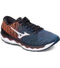 wave sky waveknit 3 shoes sport shoes running shoes multi/mönstrad mizuno