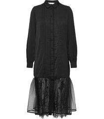 nubeyonca dress dresses lace dresses svart nümph