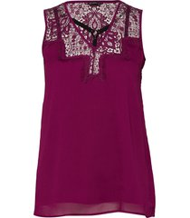 sl mariam top t-shirts & tops sleeveless rosa guess jeans
