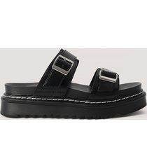 na-kd shoes sandaler - black