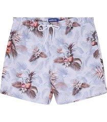 pantaloneta blanco-azul-rojo colore