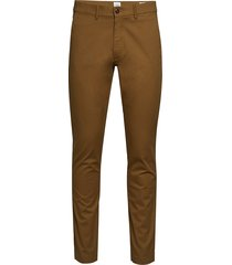 modern khakis in slim fit with gapflex casual byxor vardsgsbyxor brun gap