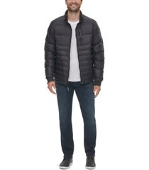 calvin klein men's slim fit seamless down puffer jacket