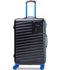maleta sport negro azul 24 f
