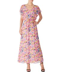 inc abstract-print maxi dress, created for macy's