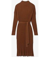 slouchy silk cashmere knit dress