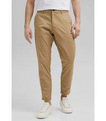 pantalon hombre chino  beige esprit