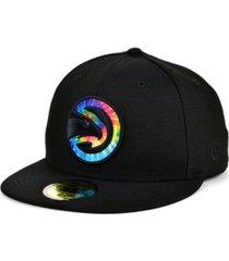new era atlanta hawks tie dye thread cap