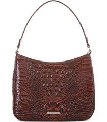 brahmin meg melbourne leather shoulder bag
