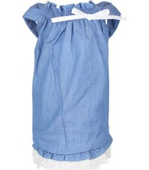 parisian pet tunic country chambray dog dress