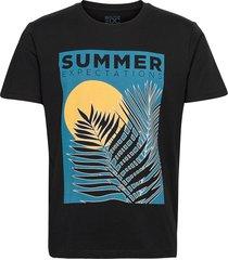 t-shirts t-shirts short-sleeved svart edc by esprit