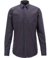 boss men's easy-iron cotton shirt