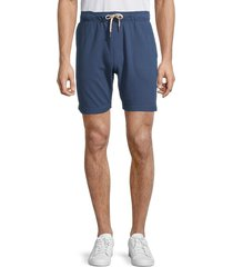 onia men's saul drawstring shorts - blue light - size l