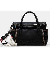 handbag strap friezes - black - u
