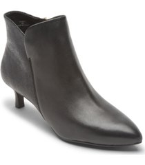 rockport women's total motion alaiya plain booties women's shoes