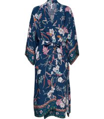 balinese retreat kimono robe beach wear blauw seafolly