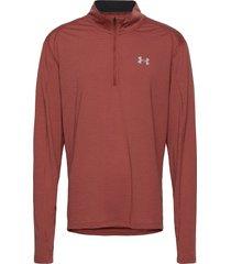ua streaker 2.0 half zip outerwear sport jackets röd under armour