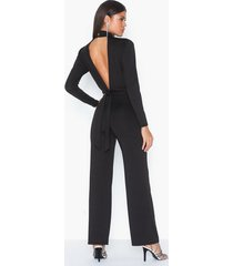nly trend open back jumpsuit jumpsuits