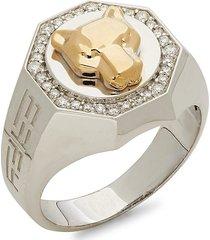 effy men's 14k two-tone & diamond ring - size 10