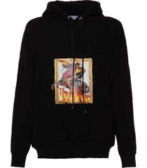 family first milano hoodie napoleone black