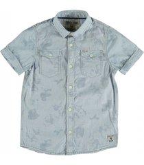 garcia lichtblauw overhemd