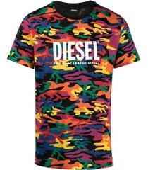 militaire motief t-shirt