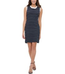 tommy hilfiger ottoman stripe sweater dress