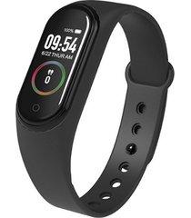 m4 smart watch brazalete banda salud podómetro impermeable pulsera 0ml