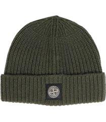 stone island 100% wool beanie
