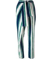 striped sarong trousers pants