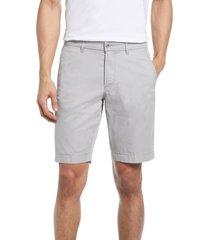 brax bristol flat front chino shorts, size 54 in platin at nordstrom