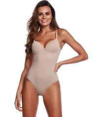 body modelador pernambucanas compressão com bojo feminino - feminino