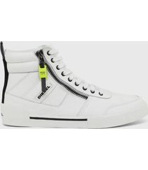 zapatilla  s rua mid sneakers  blanco diesel