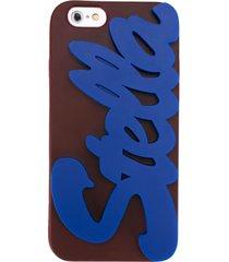 stella mccartney logo iphone 6 case - purple