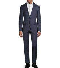 travel nestro slim-fit virgin wool suit