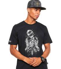 camiseta ...lost mermaid bottle preta - preto - masculino - dafiti