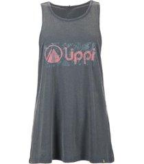 polera comfy uvstop t-shirt azul petroleo lippi