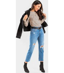 levi's® 501 cropped jeans - medium wash