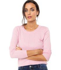 sweater rosa nano berta