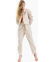 bar iii tie-waist tapered pants, created for macy's