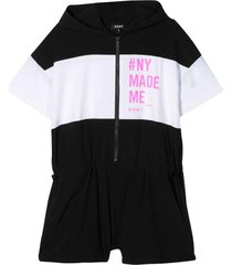 dkny short jumpsuit with press