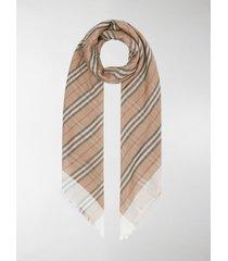 burberry icon stripe scarf