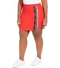 lala anthony trendy plus size high-low active mini skort